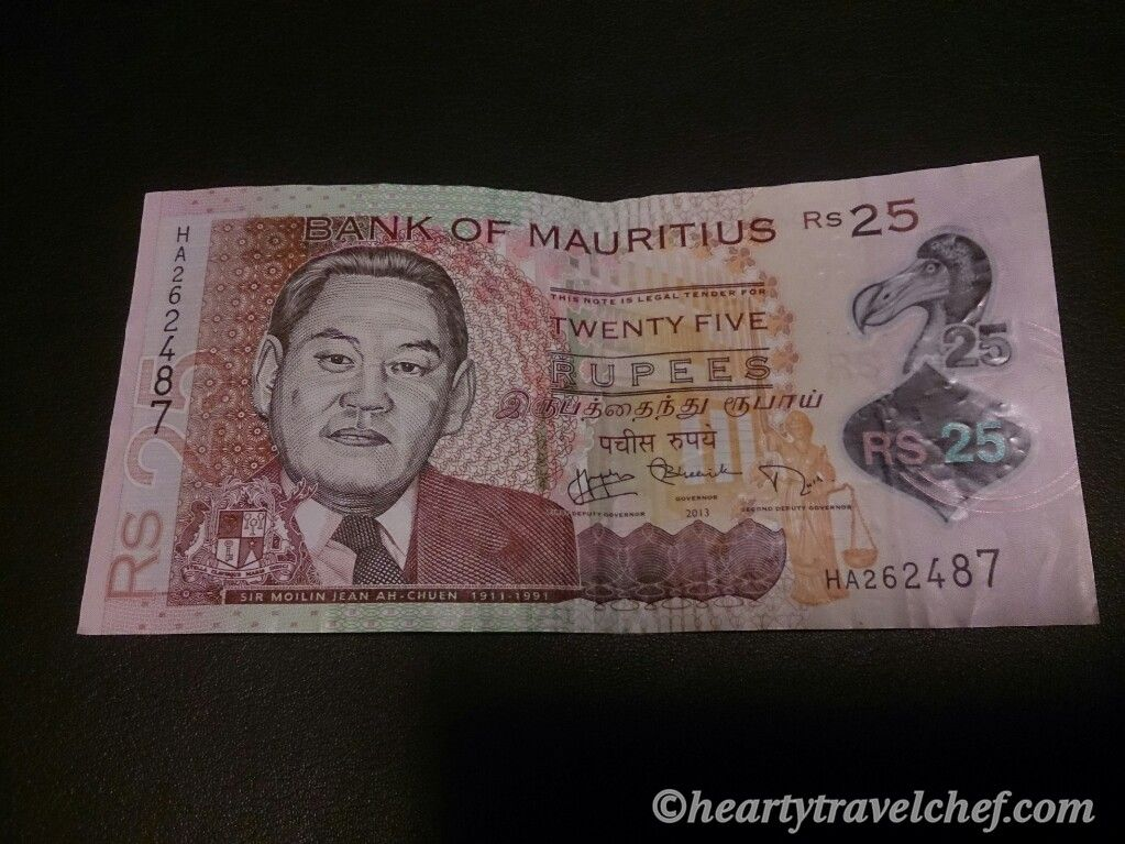Bank Of Mauritius Currency - story me