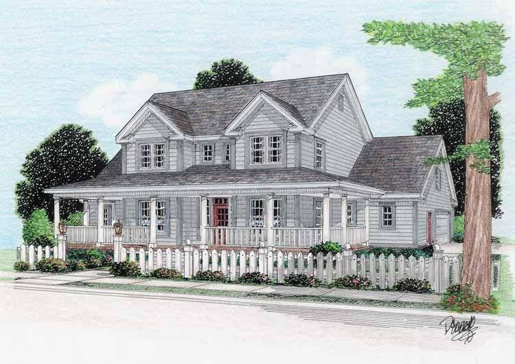 Eplans Farmhouse House Plan Inventive Floor Plan 1980