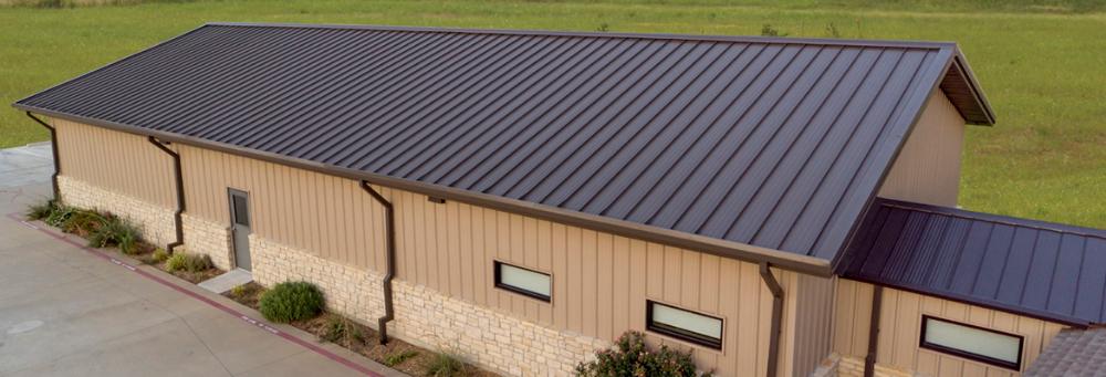 Msl Standing Seam Panel Mueller Inc Standing Seam Metal Roof Installation Metal Roof