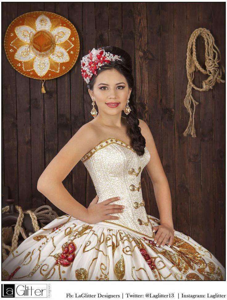 Vestido largo barato fiesta mariachi