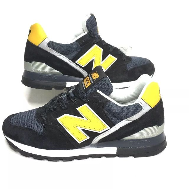 purchase cheap a64f1 611d0 New Balance Shoes | New Balance 996 Black Yellow Casual ...