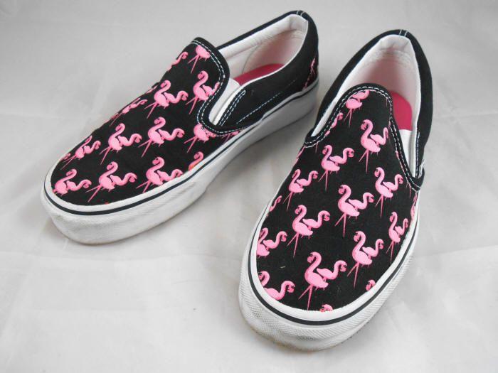 Bag: Cool Flamingo Vans For Your Vans Collections