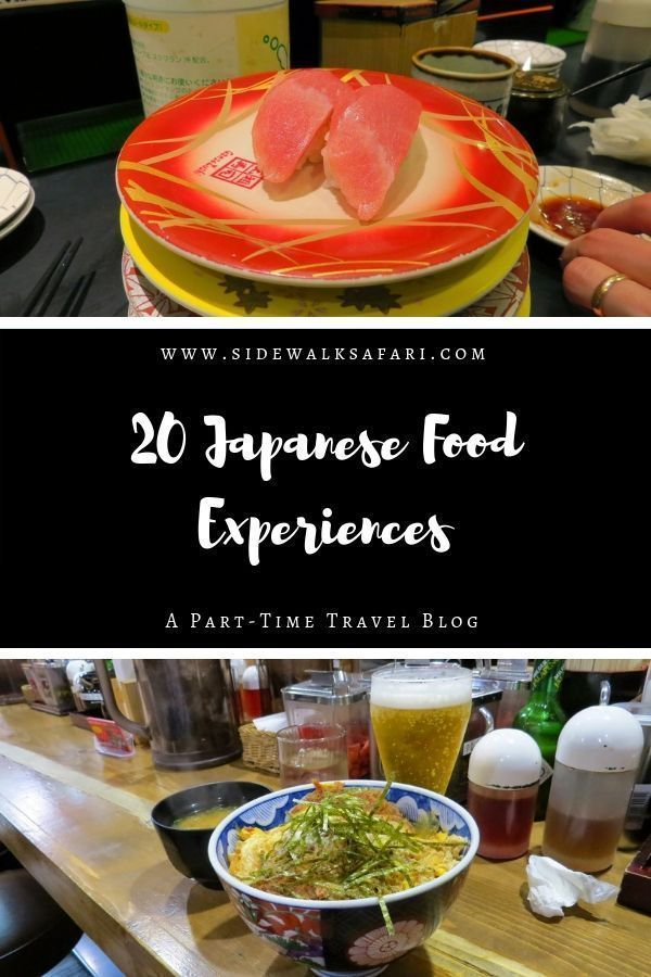 Sushi time in Japan!  Japan food experiences. Japanese food. Popular Japanese food. Traditional Japanese food. Japanese foods list. #Japan #Tokyo #Kyoto #Osaka