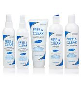 Hair Care Products Free Clear Shampoo Conditioner Hair Spray