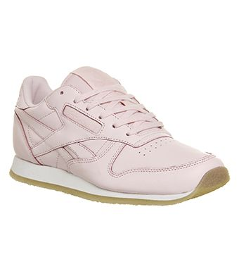 7f01e2e5ee75 Reebok Classic Leather (w) Porcelain Pink Neutral Crepe - Hers trainers