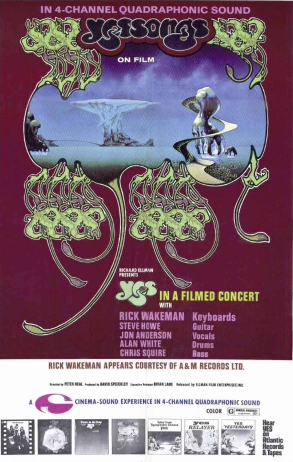 Pin By Jay Neselo On Roger Dean Yes Concert Concert Posters