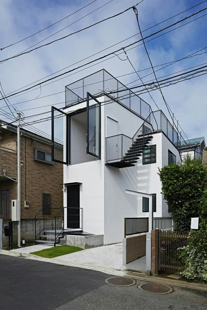 Pin Oleh Thisisdats Di Our Home Arsitektur Arsitektur Modern Desain Arsitektur Small house design minimalist