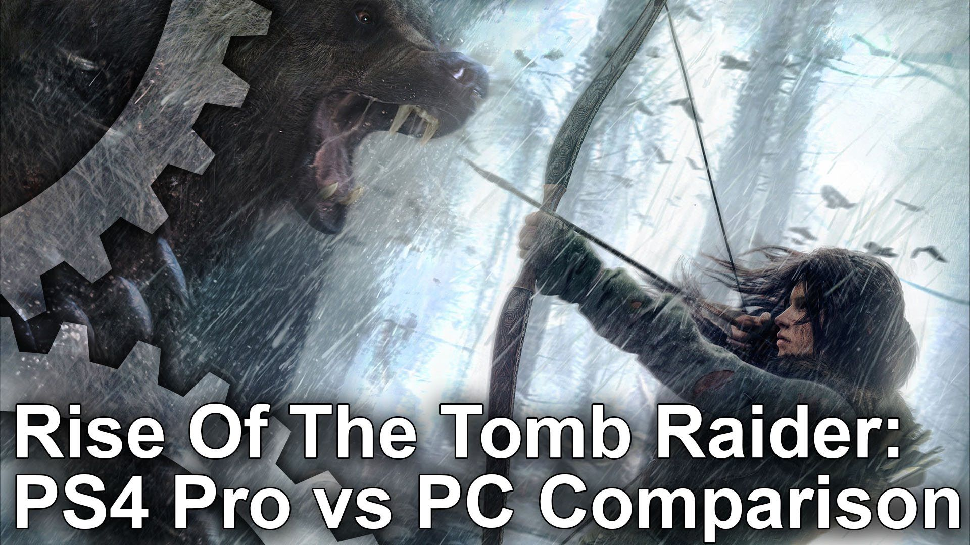 Video Rise Of The Tomb Raider Ps4 Pro Vs Pc Playstation4 Sony