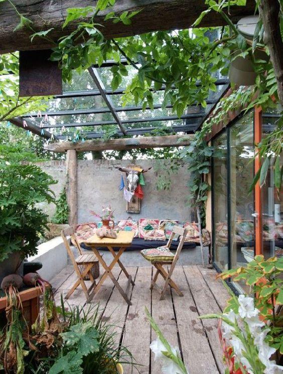 les plus belles terrasses de pinterest campagne maison jardin terrasse pinterest. Black Bedroom Furniture Sets. Home Design Ideas