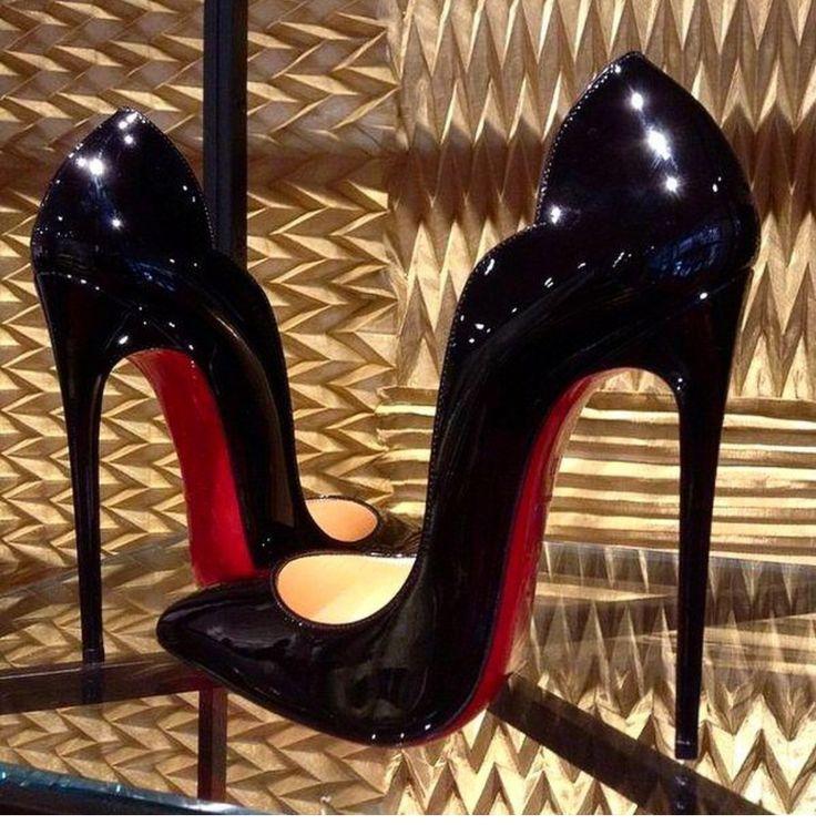 2ea3f2ce1be8 cheap hot chick black patent pumps christian louboutin louboutinoutlet