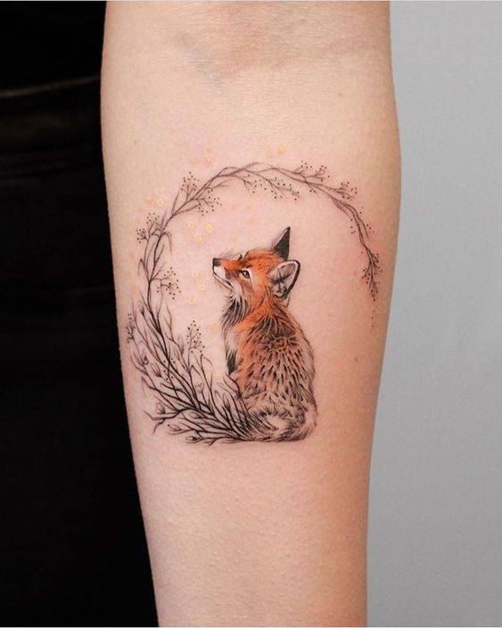 43 Cute Creative Tattoos Ideas Worth Checking Out Hertsy Wedding Cute Animal Tattoos Animal Tattoos Cute Tats