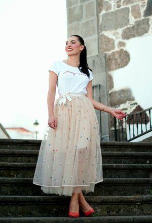 #tshirt #skirt #longskirt