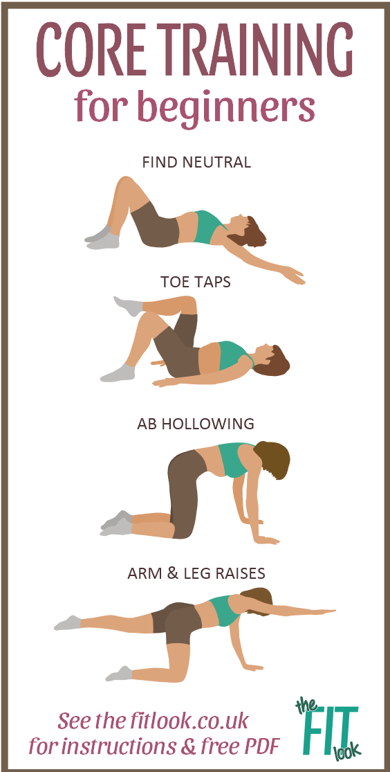 Wall exercises - 4 moves that will really improve leg strength #coreworkouts