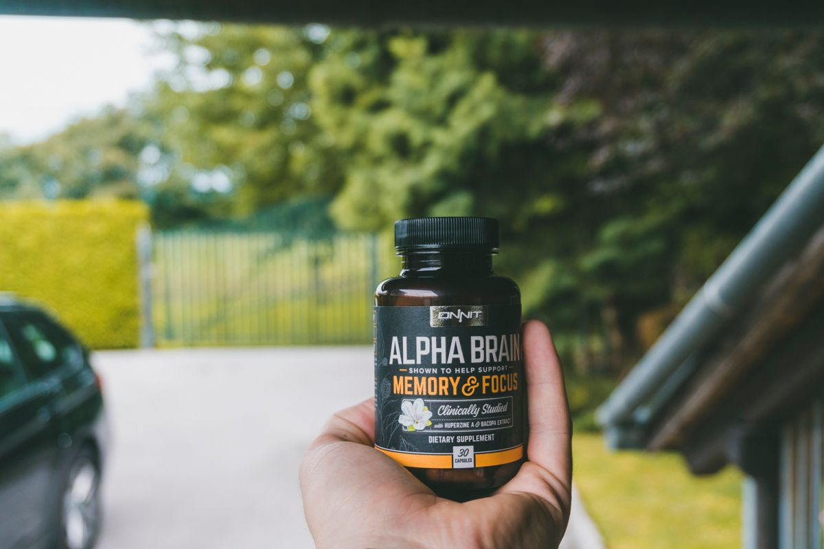 And My 2nd Picture Of The Alpha Brain Nootropic Stack This Is A