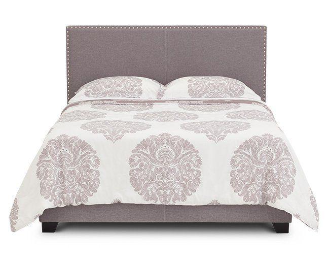 Monroe Queen Upholstered Bed | bedroom ideas | Upholstered beds, Bed ...