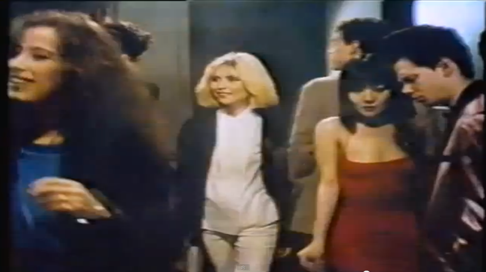 Homage to Anya Phillips Screengrab from Gloria Vanderbilt Jeans TV Ad, circa 1980. Filmed in and around the Mudd Club.