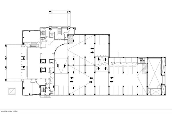 how to draw a slope in a floor plan