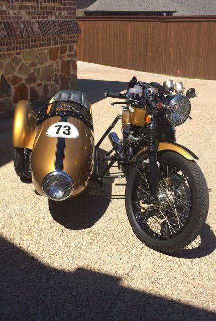 Honda CB 500 Sidecar Cafe Racer | Honda CB