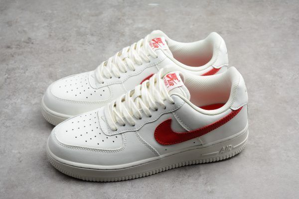 "Nike Air Force 1 Low '07 ""SailUniversity Red"" 315122 126"
