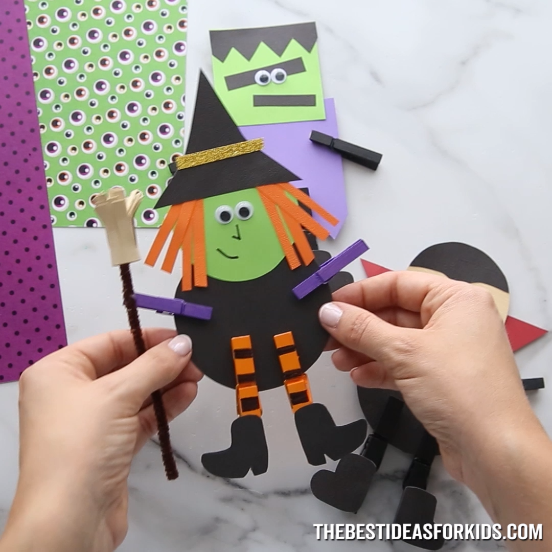 Photo of HALLOWEEN CLOTHESPIN CRAFT