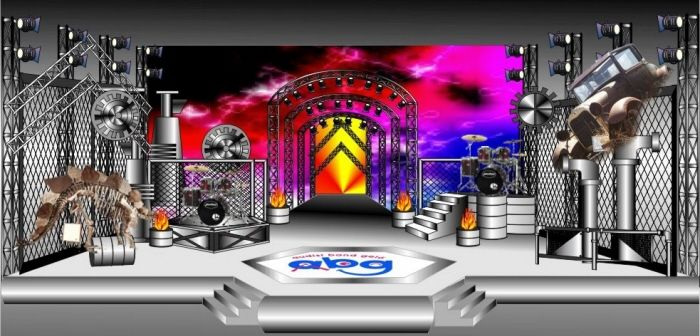 MUSIC STAGE by fetty fatimah at Coroflot.com