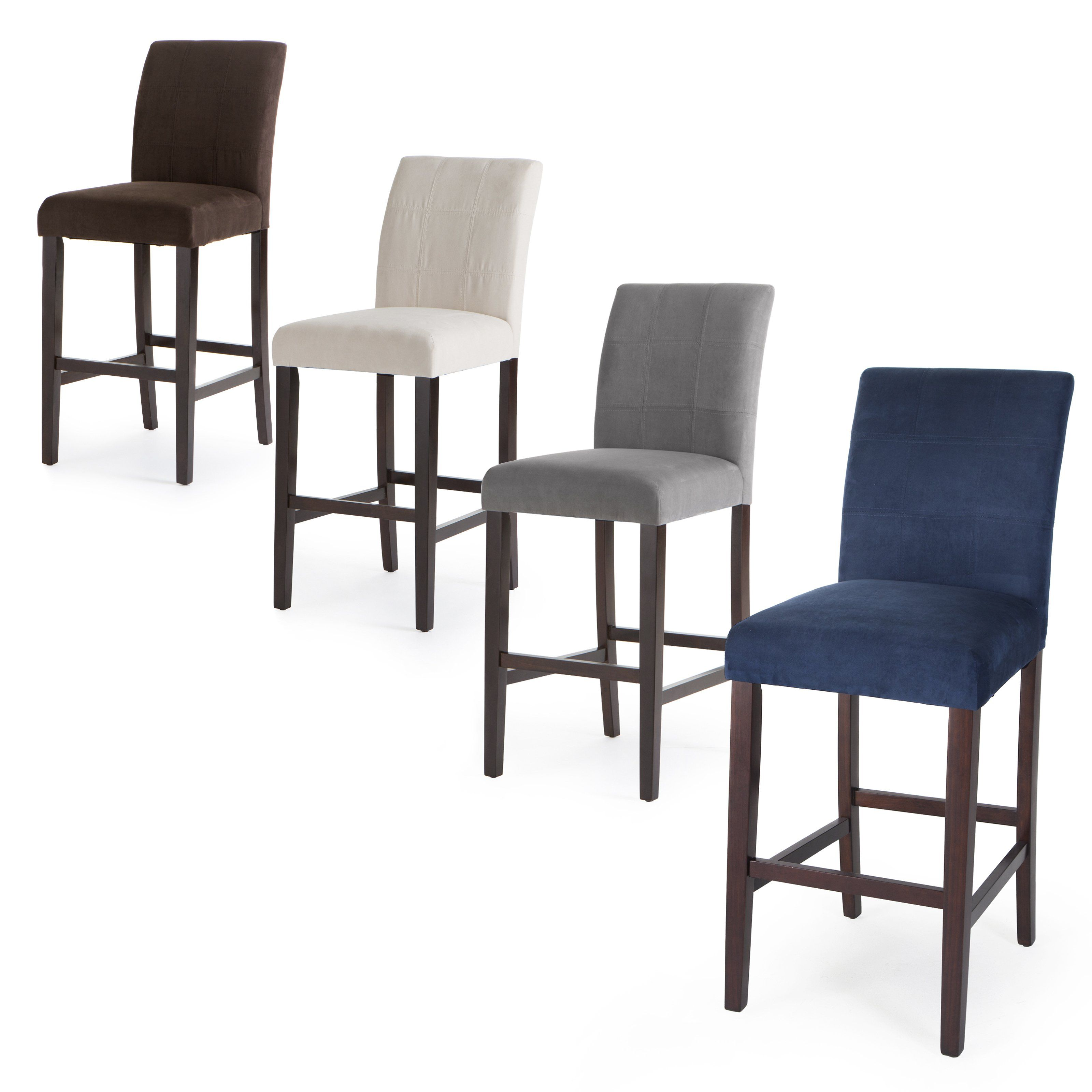 Palazzo 30 Inch Bar Stool Set Of 2 From Hayneedle Com