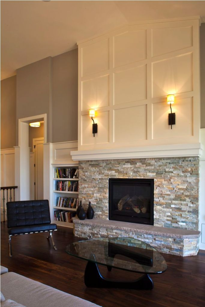 Fireplace Varnished Airstone Fireplace Lowes From Air Stone Fireplace Solution Brick Fireplace Makeover Stacked Stone Fireplaces Fireplace Remodel