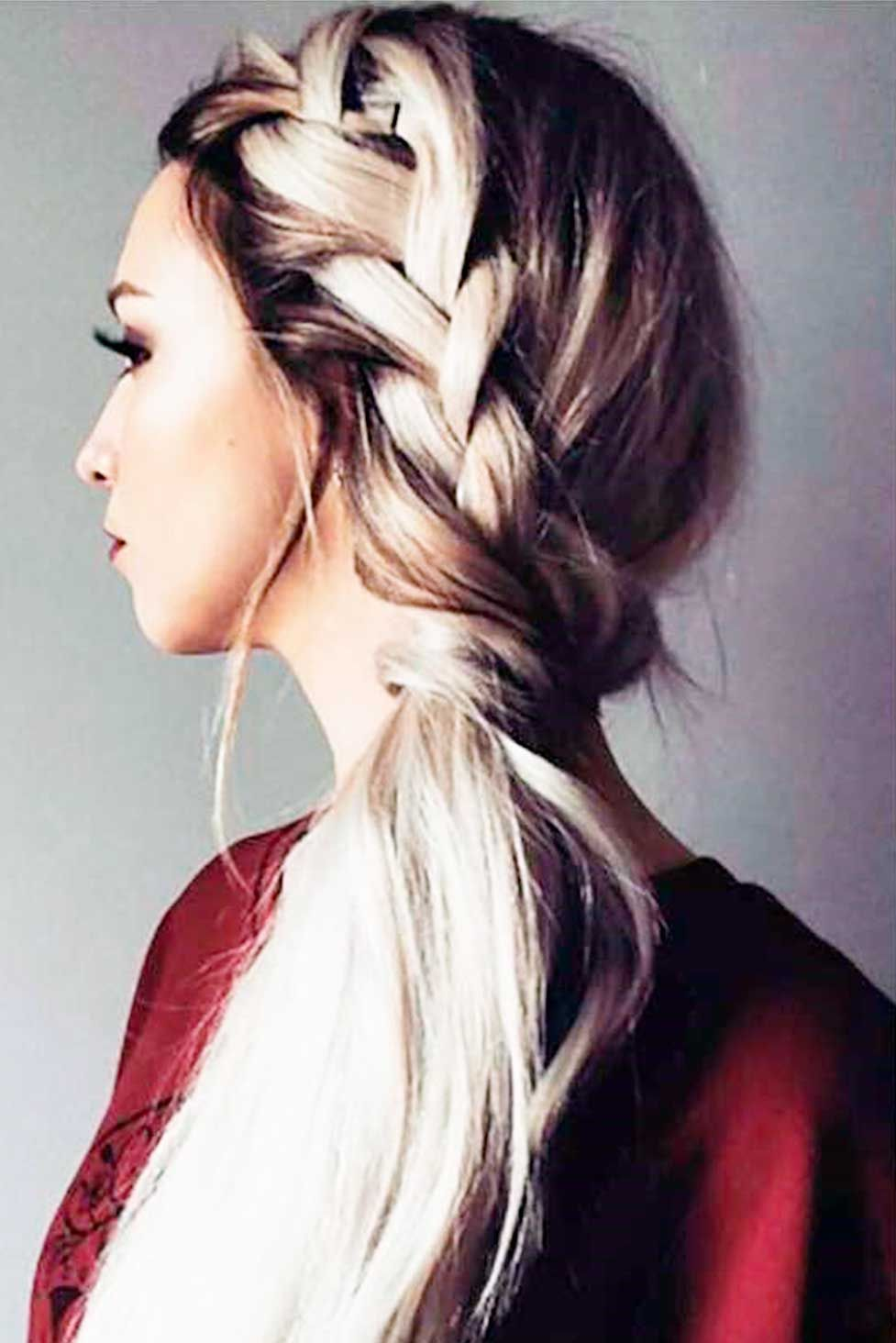 Amazing braid hairstyles for party and holidays see more