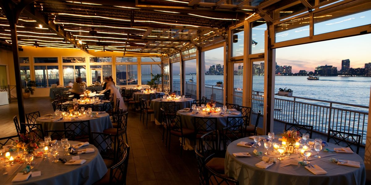 Sunset Terrace At Chelsea Piers Weddings Price Out And Compare Wedding Costs For Ceremony Reception Venues In New York Ny