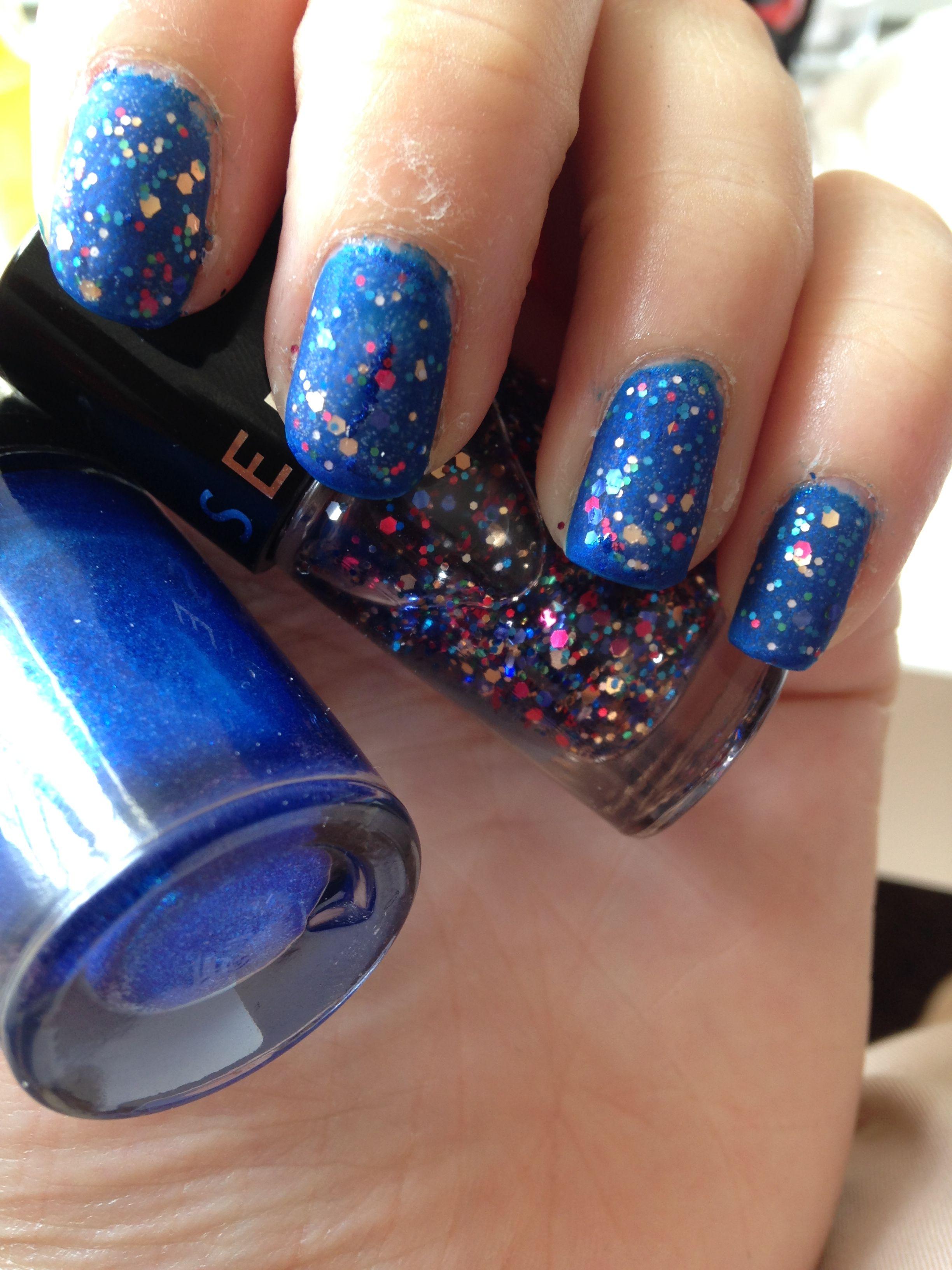 Onlyongles Base Bleue Maybelline Colorshow Ocean Blue 2