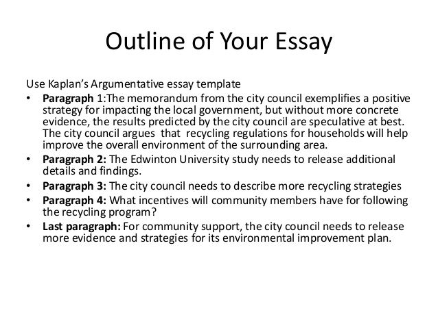Powerpoint Presentation About Argumentative Essay  Performance