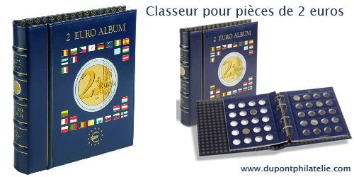 Le Classeur Pour Ranger Vos Pieces De 2 Euros Commemoratives Piece De 2 Euros