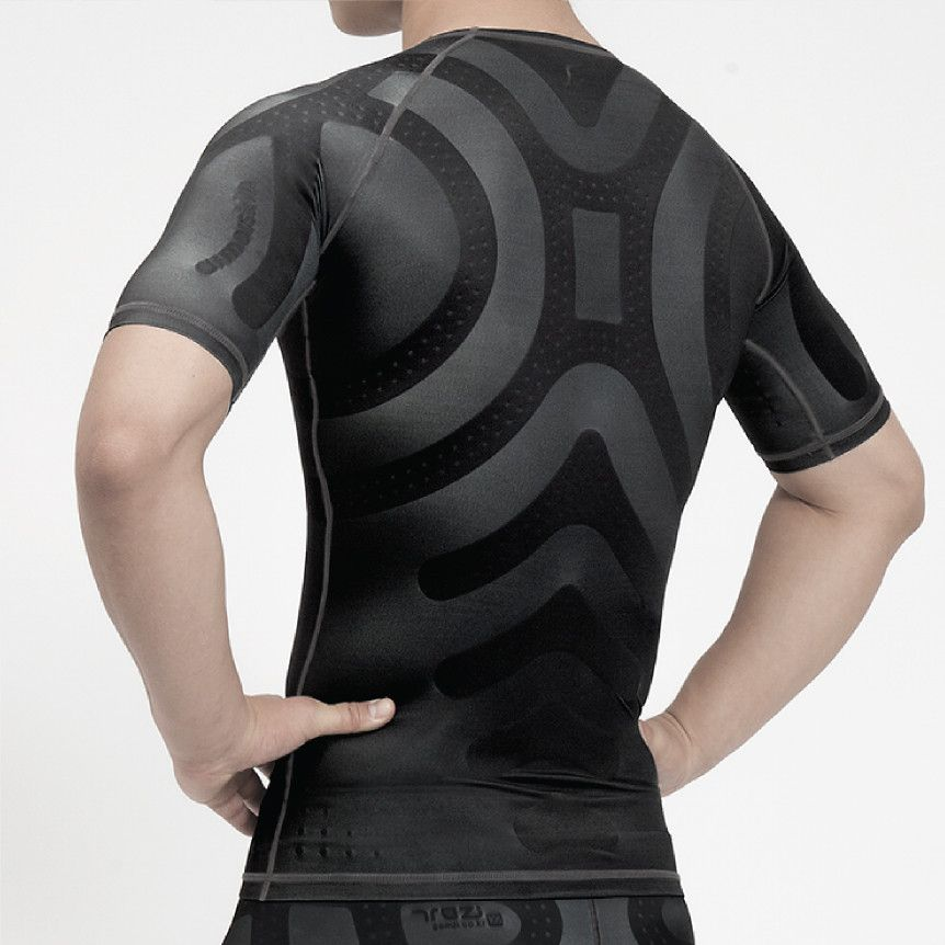 Product details enhance protect heal enerskin men s for Compression tee shirts for men