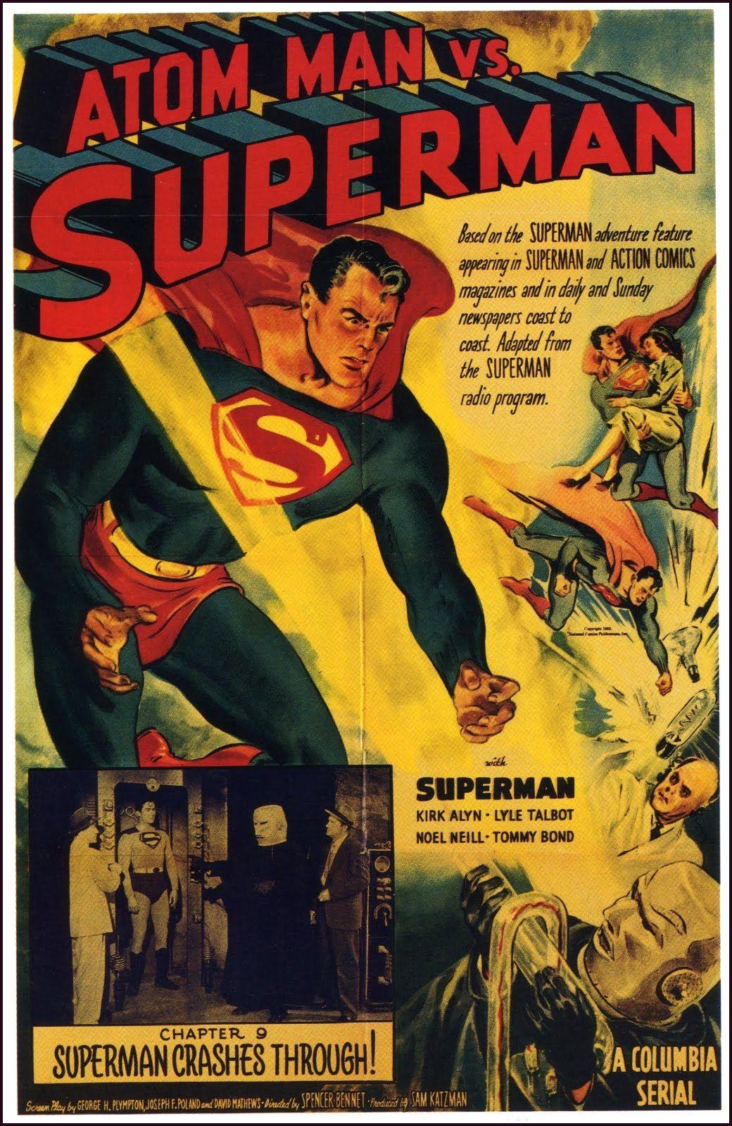 Superman 1950 Comic Atom Man vs. Superman ...