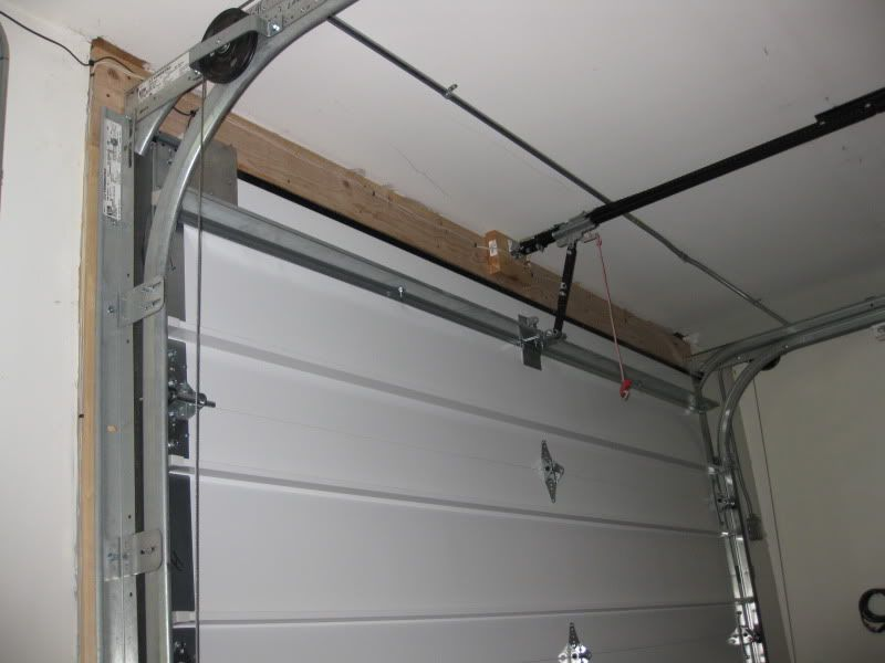 9 low clearance garage door opener to duplicate garage for How tall are garage doors
