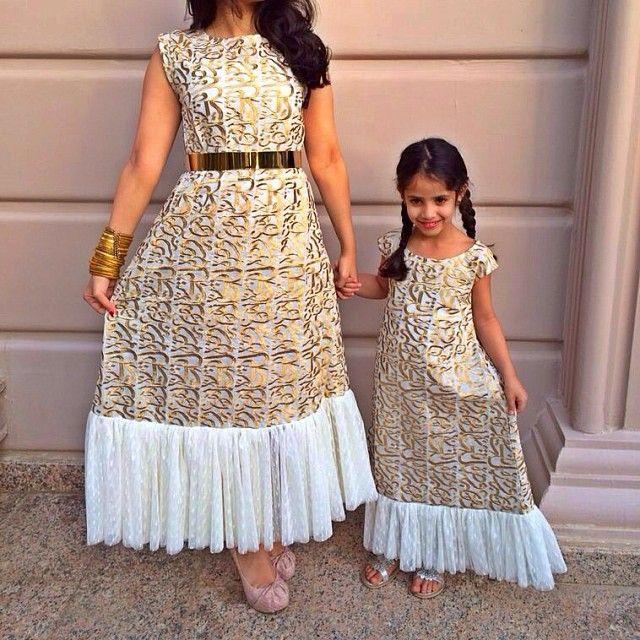 D Kaftans On Instagram Like Mother Like Daughter Available Lastpiece Kaftans Kaftan Ramadan Gcc Kids Dress Modesty Fashion Mom Daughter Outfits