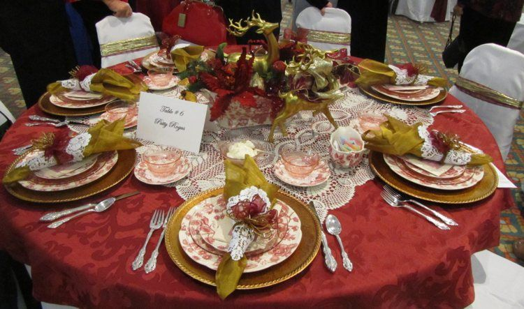 setting example #4 | Victorian High Tea Party (CCM class ...