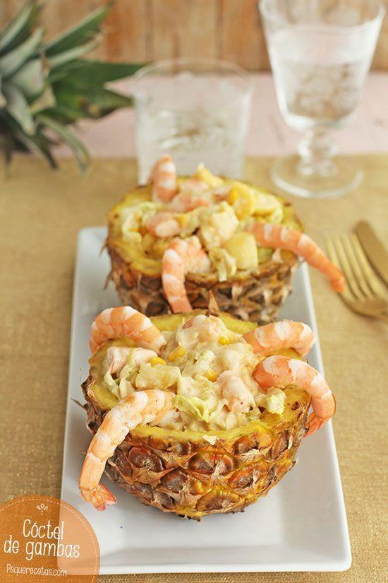 Cctel de gambas fcil y delicioso tapas gourmet and food forumfinder Choice Image