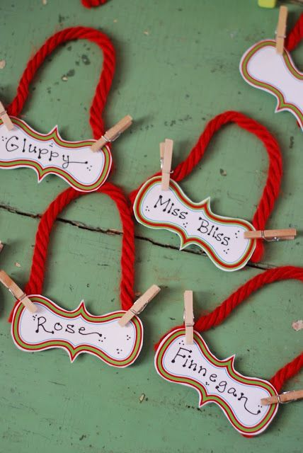 elf party elf name tags elf on the shelf ideas pinterest