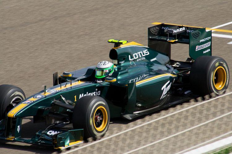 2010 Bahrain Team Lotus Malaysia T127 Heikki Kovalainen Formula 1 Car Lotus Racing
