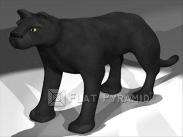 3D Model Panther - 15044