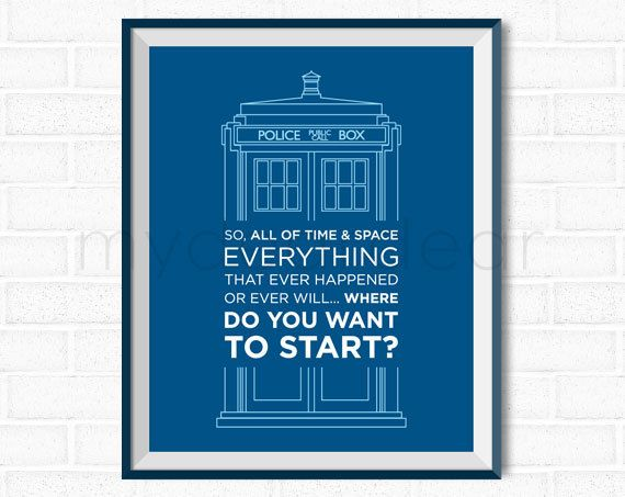 photo relating to Doctor Who Printable named Health practitioner Who Printable Poster Artwork - TARDIS \
