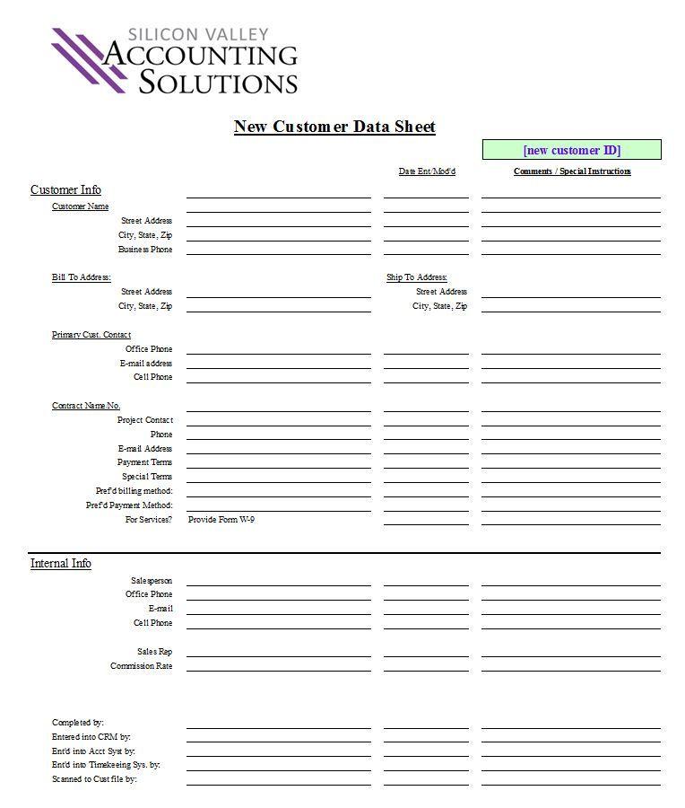 Doc.#: Client Information Form Template – Client Information Form ...