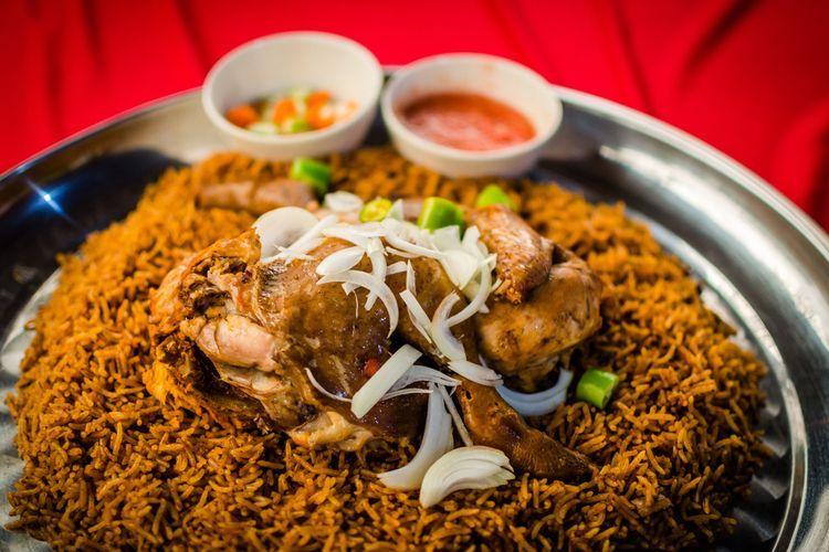Resep Nasi Kabsah Nasi Asam Gurih Daging Kambing Khas Timur Tengah Daging Kambing Resep Memasak