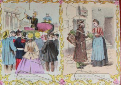 puzzle LES CRIS DE PARIS vers 1880