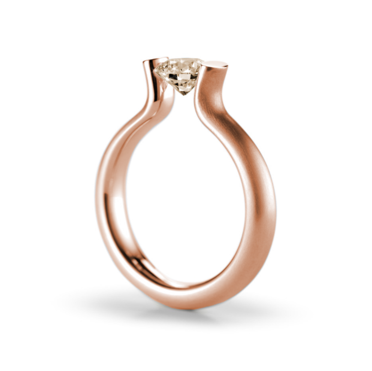 Niessing - Tension Ring - Rose Gold Heaven Engagement Ring - ORRO  Contemporary Jewellery Glasgow -