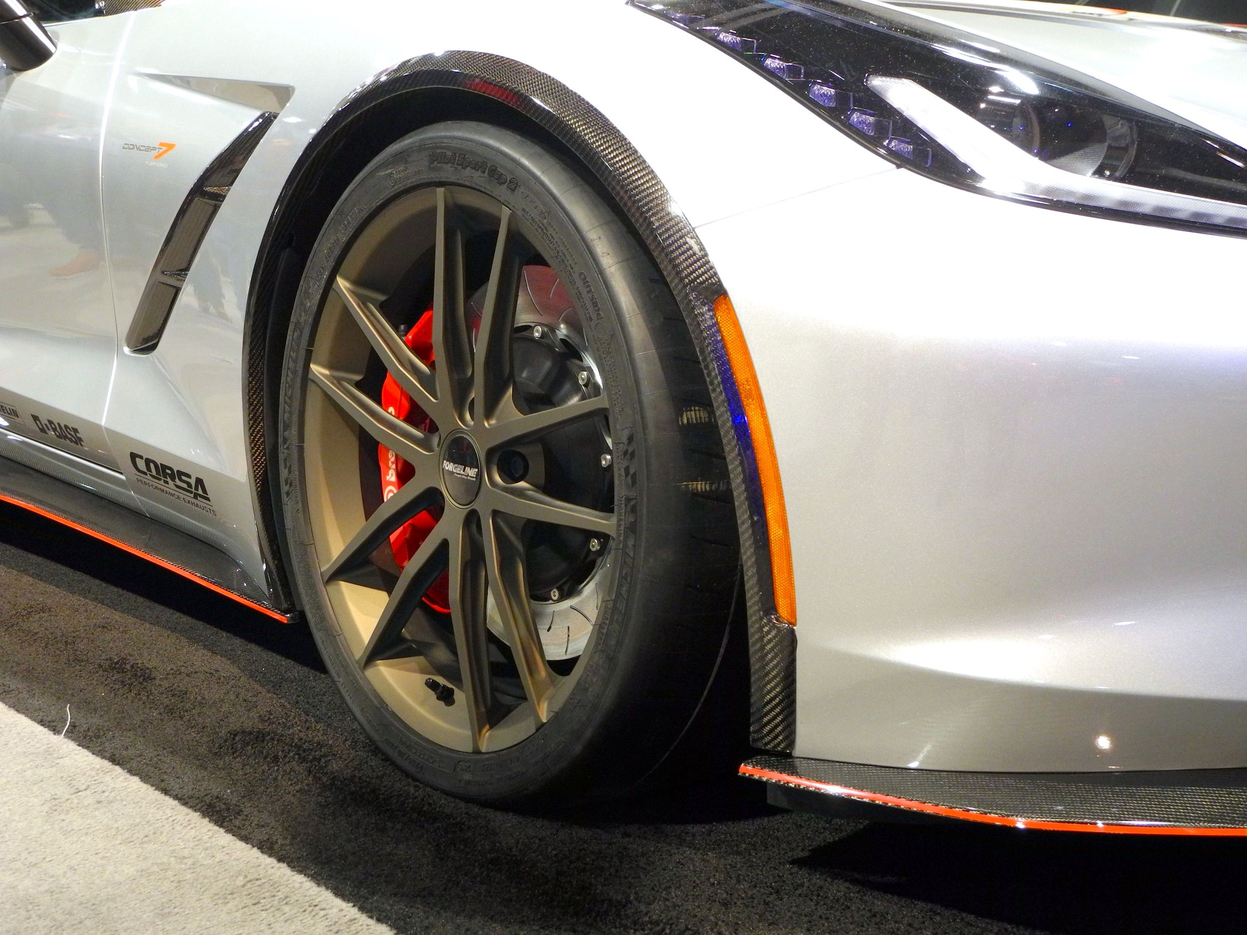 Nowicki Autosport Design Had Their Concept 7 Corvette In The Hotchkis Sport  Suspension Booth, At