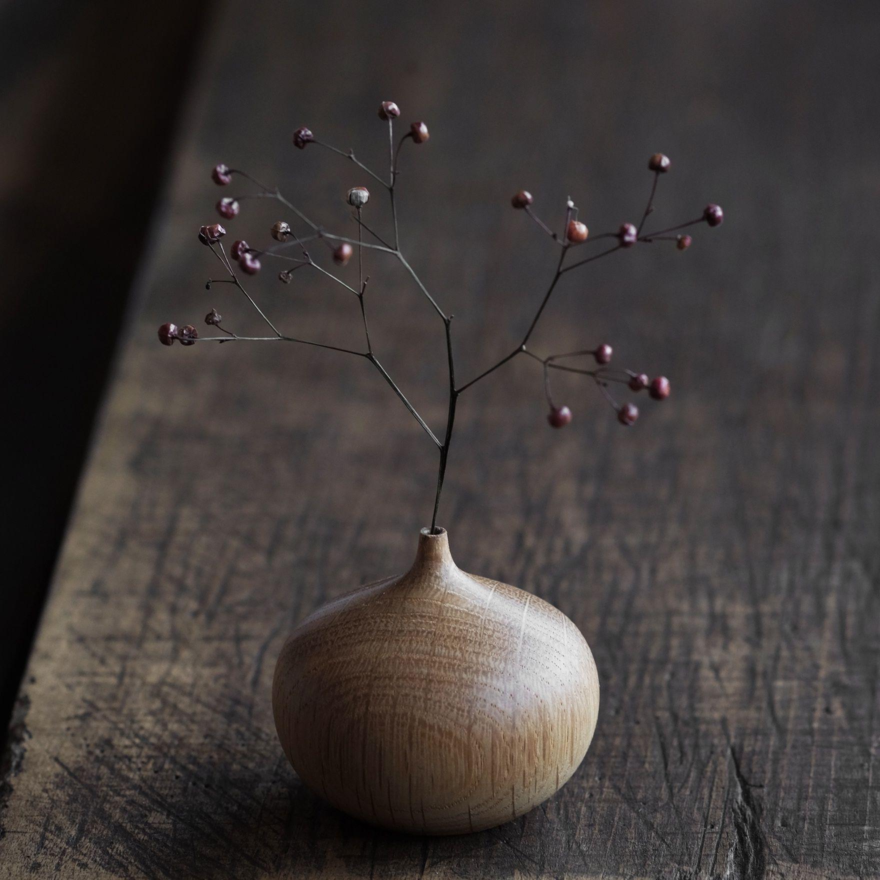 Onion vase takehito ichikawas handmade wood vases are designed onion vase takehito ichikawas handmade wood vases are designed for use with dry or artificial reviewsmspy