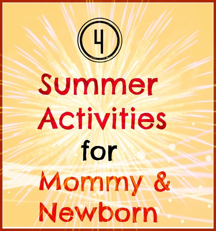 4 ways to beat the heat with a newborn in the summertime #summer #newborn mommysbundle.com/...