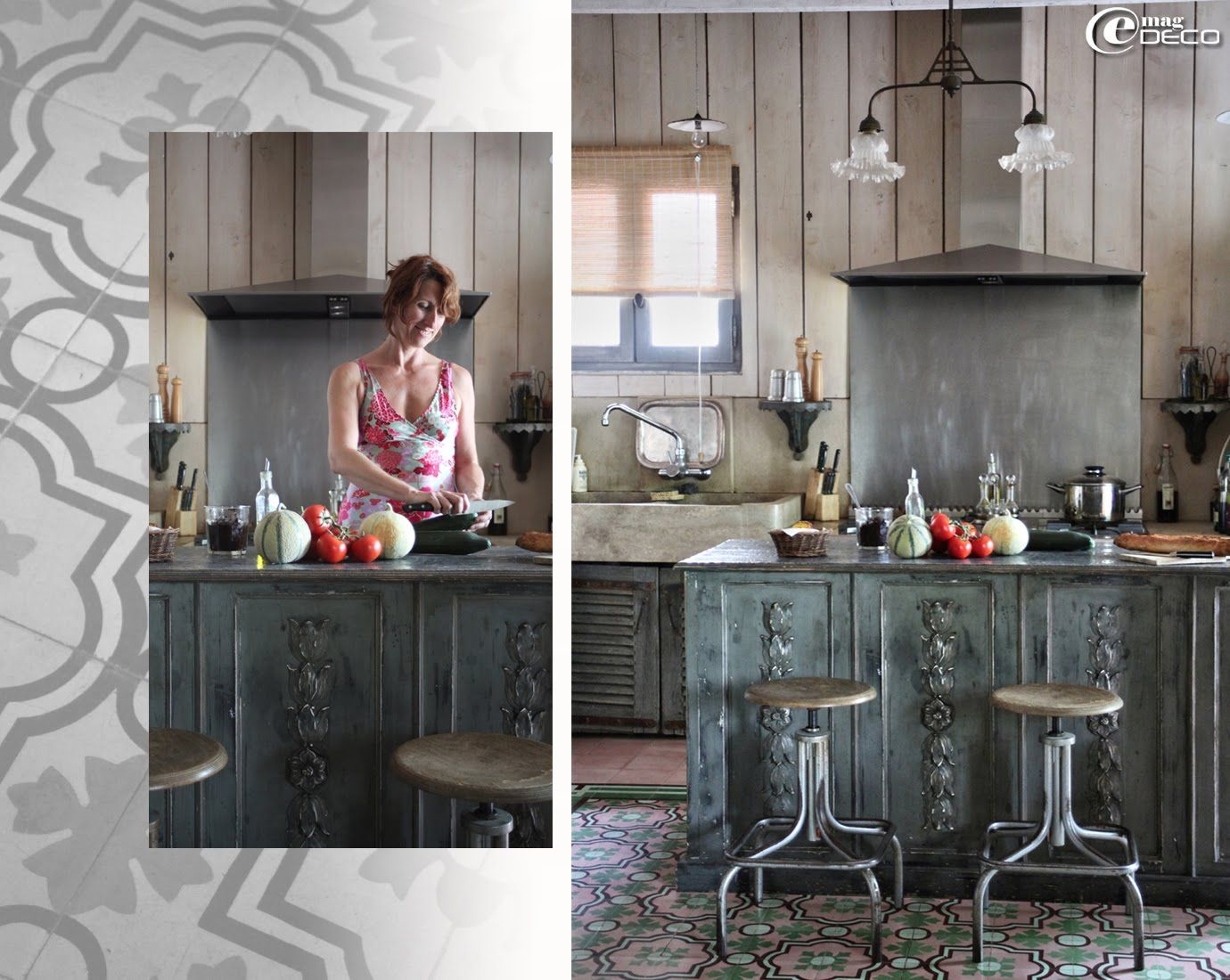 plan de travail zinc pour nettoyer en profondeur votre. Black Bedroom Furniture Sets. Home Design Ideas